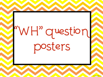 """""""WH"""" Posters"""