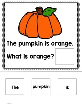 """""""WH"""" Questions:Fall Themed"""