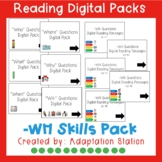 -WH Questions Digital Task Cards for Distance Learning