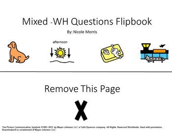 -WH Questions Flipbooks