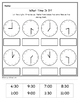 """WHAT TIME IS IT?"" Math Unit (Clocks/Telling Time Math Unit)"