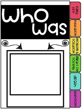 """""""WHO WAS"""" Series Flip Book"""