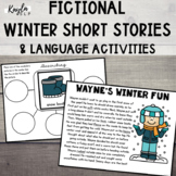Winter Fictional Short Stories and Language Activities