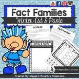 {WINTER} Multiplication Fact Families Cut & Paste