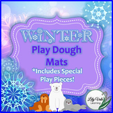 **WINTER PLAY DOUGH MATS** From LilyVale Learning