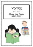 """WONDER"" by R.J. Palacio HIGHER ORDER THINKING NOVEL STUDY- NEW PRODUCT!!"