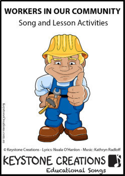 'WORKERS IN OUR COMMUNITY' ~ MP3: READ, SING & LEARN about roles of workers