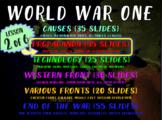 WORLD WAR ONE (PART 2 PROPAGANDA) rich text visual engaging w graphic organizer
