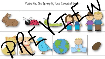 """""""Wake Up, It's Spring!"""" Book Companion Language Pack"""