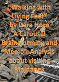 """""""Walking with Living Feet"""" Holocaust Close Read, Carousel,"""