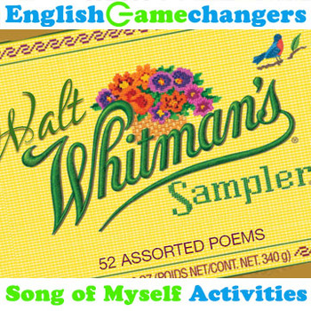 """Walt Whitman's Sampler"" Complete Unit Activities, Lesson Plans & More!"
