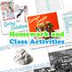 Walt Whitman's Sampler Complete Unit Activities, Lesson Plans & More!