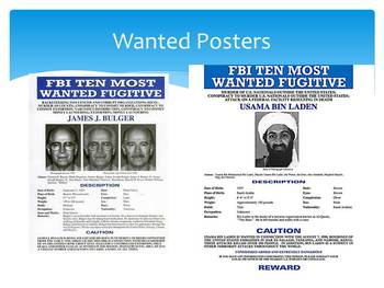 """""""Wanted"""" Poster Project for The Crucible"""