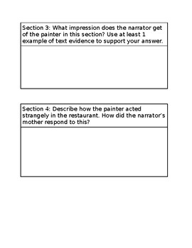 """War of the Wall""  Close Reading Questions"