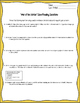 """War of the Worlds"" novel excerpt Close Reading Worksheet for Code-X Unit 5"