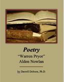 """""""Warren Pryor"""" by Alden Nowlan -- Poetry"""