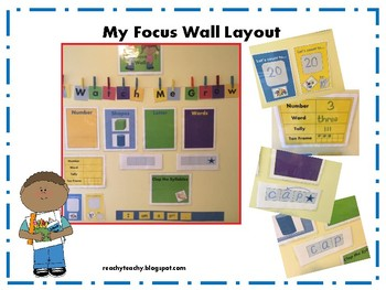 """Watch Me Grow"" Focus Wall"