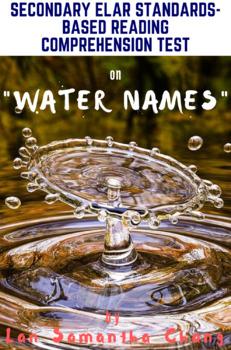"""""""Water Names"""" by Lan Samantha Chang Reading Comprehension & Analysis Test"""