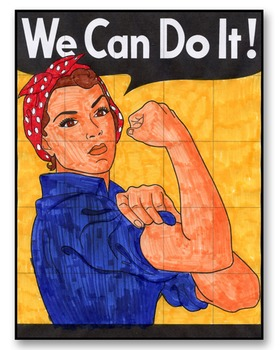 """""""We Can Do It!"""" Mural"""