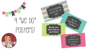"""""""We Do"""" Posters"""