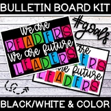 """""""We are READERS, We are future LEADERS"""" Bulletin Board Kit"""