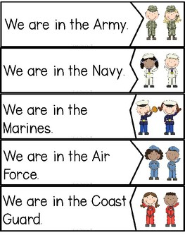 """We are Veterans!"" (A Veteran's Day Emergent Reader and Activity Dollar Deal)"