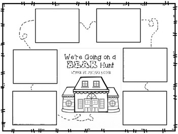 """We're Going on a Bear Hunt"" By: Michael Rosen (Literature Unit)"