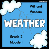 'Weather' Guided PowerPoints Wit and Wisdom (Module 1 Lessons 1-3)