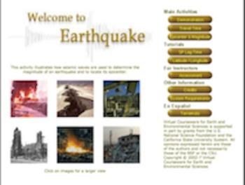 (WebQuest) Virtual Earthquake Lab Worksheet