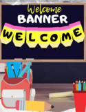 """""""Welcome"""" Pencil Welcome Banner"""
