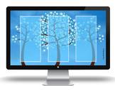 """""""Welcome Spring"""" Desktop Organizer"""