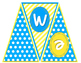 """""""Welcome to __ Grade"""" Pennant Banner - Sky Blue and Sunny"""
