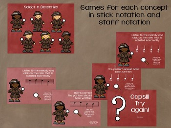Crack the Melody: 10 interactive games for melodic error detection level 1