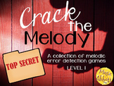 Crack the Melody: 10 interactive games for melodic error d