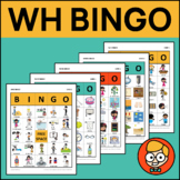 """Wh"" Bingo: What, Where, Who, When, Why"