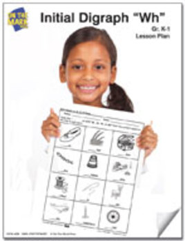 """Wh"" Digraph Lesson Plan Grades K-1"