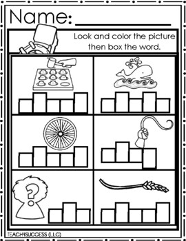 /Wh/ Digraphs (Word Work)