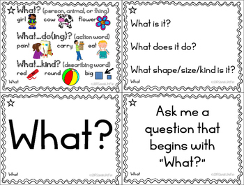 """""""Wh"""" Question Ring-a-Lings: Bundled Set"""