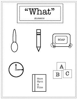 """Wh"" Questions Worksheets"