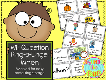 """""""Wh"""" Ring-a-Lings: When Questions"""