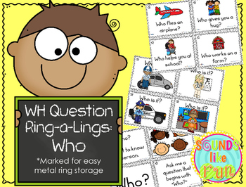 """Wh"" Ring-a-Lings: Who Questions"
