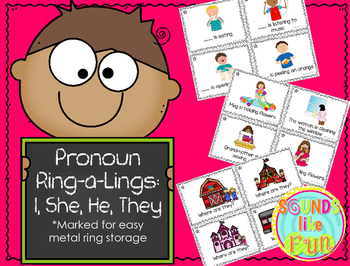 Pronoun Ring-a-Lings: He, She, They, and I