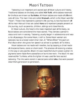 """Whale Rider"" - Maori People of New Zealand Film Study"