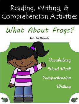 """""""What About Frogs?"""" Guided Reading Work"""