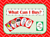 """""""What Can I Buy"""" Money Budgeting Card Game"""