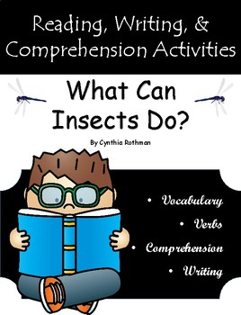 """""""What Can Insects Do"""" Guided Reading Program Work"""