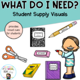 """What Do I Need?"" Student Supply Visual Display"