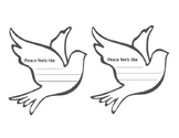 """What Does Peace Feel Like"" Activity Sheet"
