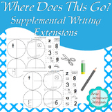 """""""What Goes Where?"""" -   Supplemental Writing Extension"""