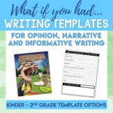 """""""What If You Had Animal..."""" Text Based Opinion Writing Activity"""